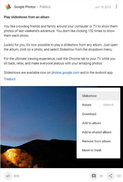 google-plus-anuncio-modo-presentacion-diapositivas