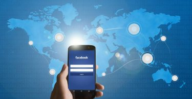 Facebook teléfono móvil